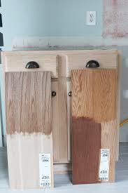 kitchen renovation unfinished oak cabinets for idea 9