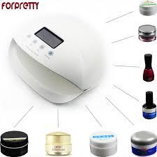 Red Light Skin Care Lampara Uv Lamp 50w Led Nail Lampe Secador Cabine Gel Polish Lampara