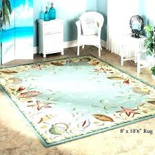 coastal themed area rugs lagoon blue striped wool area rug beach cottages and house rugs coastal themed area rugs