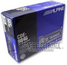 alpine cde 9846 cde9846 cd mp3 player sonic electronix product alpine cde 9846 how to install a car stereo