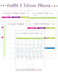 Day Fix Tracker Sheets New Fitness Meal Planner Vegan Diet Calories ...