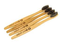 Набор из 4-х бамбуковых <b>зубных щеток</b> Eco Fusion Classic с ...