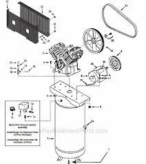 campbell hausfeld dp5810 q parts list and diagram bel-aire compressors at Bel Air Compressor Wiring Diagram
