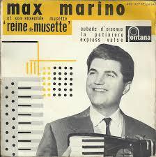 Max Marino Et Son Ensemble Musette – Reine De Musette (1958, Vinyl ...