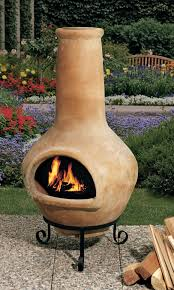 cooking clay fire pit chimney