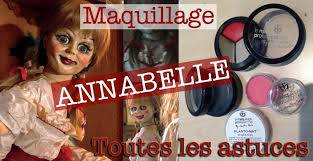 maquillage annabelle makeup annabelle