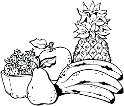 Fruit Coloring Page Fruits Coloring Sheets Fruit Basket Pages For