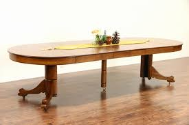 articles with antique oak dining table claw feet tag