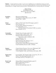 How To Write A Resume For College Phenomenal How To Write Resume For College Application An Activities 6