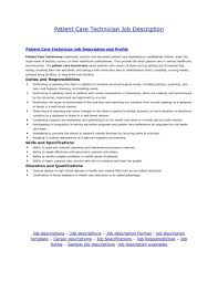 Patient Care Technician Resume With No Experience Lovely Patient Care Technician Resume With No Experience Xs93