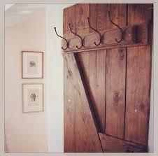 Door Coat Rack Hand Made Barn Door Style Coat Hanger by Mayhem Furniture Co 62
