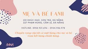 Mẹ và bé FAMI - 201 Khúc Hạo, Sơn Trà, Đà Nẵng - Home