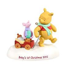 Winnie The Pooh Baby's First Christmas * Hallmark 2012 Keepsake Ornament *  QXD1601
