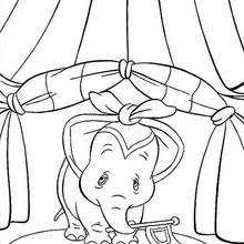 Small Picture Dumbo coloring pages 16 free Disney printables for kids to color