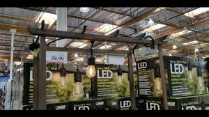 Costco Patio Lights Costco Feit 48 Ft Led String Lights 39