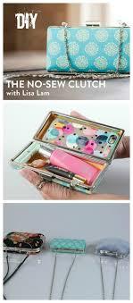 making a box frame clutch purse so sew easy diy