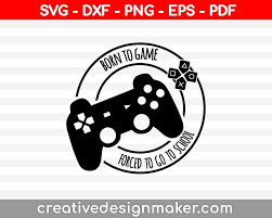 There are a bunch of tools available here to let you edit svg files in anyway you want. Video Game Svg Printable Files Creativedesignmaker