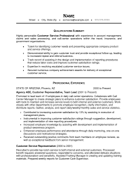 Examples Of Resumes Resume Template Objectives For Customer