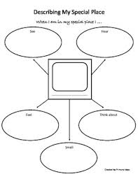 favorite place descriptive writing lesson graphic organizers my favorite place descriptive writing lesson graphic organizers