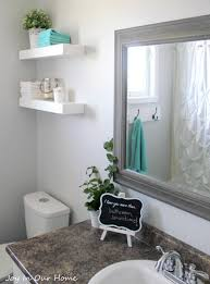 bathroom decoration idea by joy in our home shutterfly