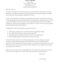 Account Clerk Cover Letter Sample Cover Letter For Accounting Clerk