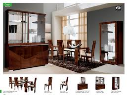 modern wood dining room sets: dining room furniture modern formal dining sets capri dining room alf italy