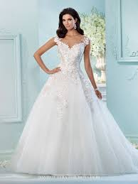 David Wedding Dress Designer David Tutera Jay 216238 All Dressed Up Bridal Gown