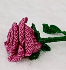 Knitted Flower Pattern Beauteous Flower Knitting Patterns In The Loop Knitting
