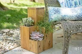 diy planter pot table combo thiany more diy planter box ideas