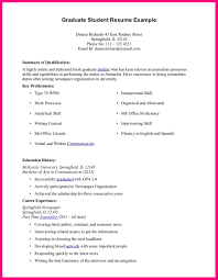 9 Student Example Of Cv