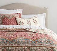neena patchwork quilt & sham | Pottery Barn & Zarina Print Reversible Quilt & Sham Adamdwight.com