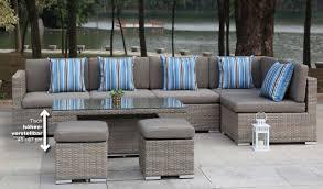 Loungemöbel Verstellbarer Tisch