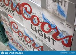 Case Coors Light Coors Light Cases Editorial Photography Image Of Case