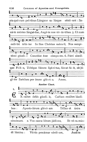 exultet sheet music gregobase exsultet orbis gaudiis another chant