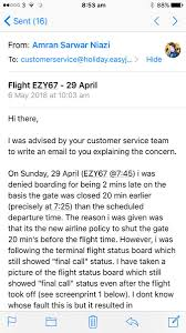 Easyjet على تويتر Can You Send Me The Holiday Reference That You