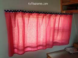no sew rv curtain