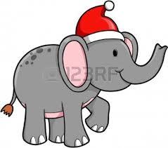 christmas elephant clip art. Contemporary Christmas Christmas Elephant Clip Art For Elephant Clip Art E