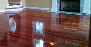 Decking Dark Varnished Mahogany Wood Flooring Interior Handsome