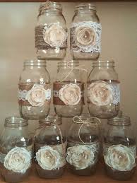Glass Jar Wedding Decorations