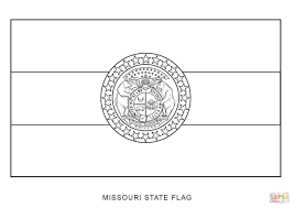 Small Picture Missouri State Flag coloring page Free Printable Coloring Pages