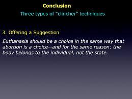 the persuasive essay conclusion