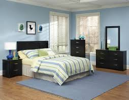 kids black bedroom furniture. Astounding 4 Piece Black Bedroom Furniture With Gray Rug Kids