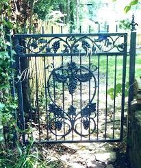 antique wrought iron garden gates fence park bench edinburgh ant