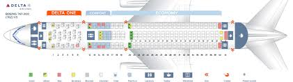 Delta Airlines 767 Seating Chart Seat Map Boeing 767 300 Delta Airlines Best Seats In Plane