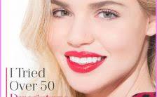 wear foundation lip glosses eye liner ideas for over 50 women makeup