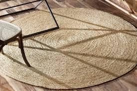 round jute rug large