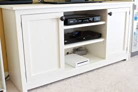 white media console furniture. Media Console From The Handbuilt Home White Furniture