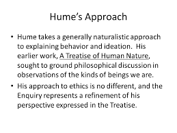 phil enquiry of the principles of morals by david hume ppt  2 hume s