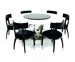 round dining table for 6 with lazy susan modern