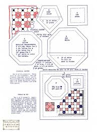 Quilting templates (@ http://www.french-knots.com) #quilt ... & Forget Me Not and Colonial Garden Vintage Quilt Pattern Meerdere oude  patronen Adamdwight.com